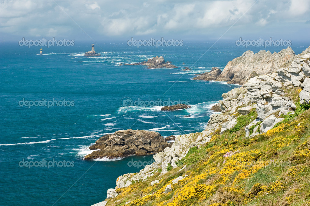 Pointe du Raz, Brittany, France — Stock Photo #4032746