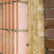 Thermal insulation of a house wall — Stock Photo #4040096