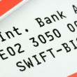 Stock Photo: Swift-Code