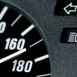Speedometer of a car — Stock Photo #4048771