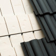 Thermal insulation of a house roof — Stock Photo #4050967