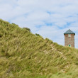 Tower in the dunes — Stock Photo