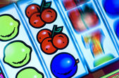 Display of a fruit machine — Stock Photo