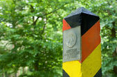 Border post of the former German Democratic Republic — Stock Photo