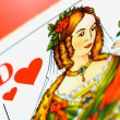 Dame of hearts — Stockfoto