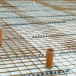 Baseplate on a construction site — Stock Photo