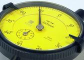 Digital measuring dial gauge — Stock Photo