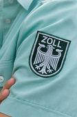 German customs officer — Stock Photo
