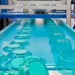 Mass production of plastic containers — Stock Photo #4140512