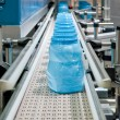 Mass production of plastic containers — Stock Photo #4140513