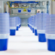 Mass production of plastic cups — Stock Photo #4151532