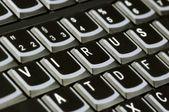 Computer keyboard with word Virus — Stock Photo