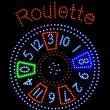 Stock Photo: Roulette-Signalisation