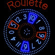 Roulette-Signalisation — Stock Photo