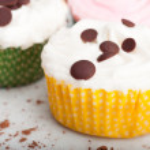 Three Small Cupcakes — Stock Photo