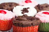 Cupcakes Closeup — Stock Photo