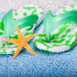 Royalty-Free Stock Photo: Flip-flops and Starfish