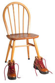This Chair was Made for Walking — Stock Photo