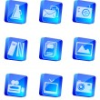 Stock Vector: Mediand Publishing icons