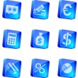 Finance and Banking icons — Stock Vector #4103149