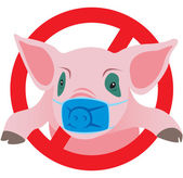 Swine flu — Stock Vector