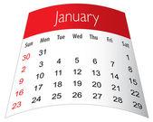 Kalendar 2011 — Stock Vector