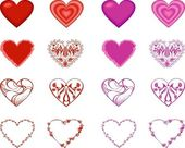 Hearts. — Stock Vector