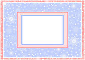 Christmas Frame_7 — Stock Vector