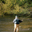 fly fishing — Stock Photo #5368679
