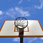 Basketball ring — Stock Photo #3987800