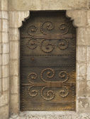Medieval door — Stock Photo