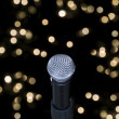 Microphone on stage — Stock Photo #3990724