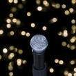Stock Photo: Microphone on stage