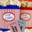 Tickets and fun — Stock Photo