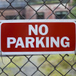 No Parking — Stock Photo