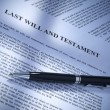 Last will and testament — Stock Photo #3991478