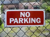 No Parking — Stock Photo