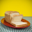 Stock Photo: Sliced bread