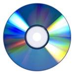 Refracting DVD — Stock Photo