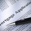Photo: Mortgage application