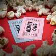Movie stub — Stock Photo