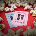 Movie stub — Stock Photo