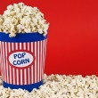 Stock Photo: Popcorn bucket