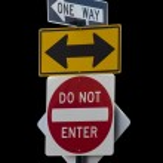 Street signs — Stock Photo