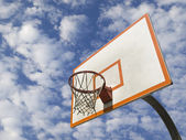 Basketball ring — Stock Photo