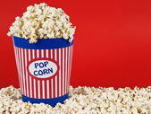 Popcorn bucket — Stock Photo