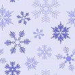 Snowflakes pattern — Stock Vector #4140241