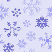 Snowflakes pattern — Wektor stockowy