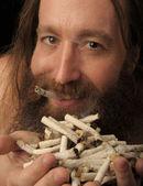 Cigarette Man — Zdjęcie stockowe