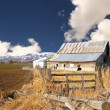 Classic Idaho barn — Stock Photo